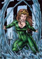 DC: Women of Legend - Mera by tonyperna