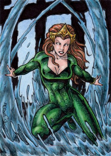 DC: Women of Legend - Mera by tonyperna