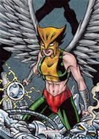 DC: Women of Legend - Hawkgirl by tonyperna