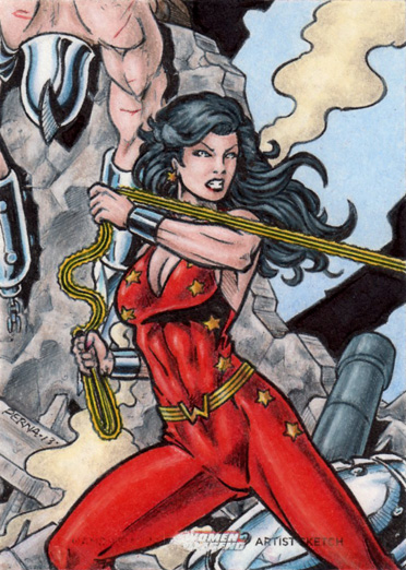 DC: Women of Legend - Donna Troy by tonyperna
