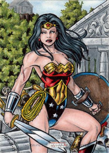 DC: Women of Legend - Wonder Woman by tonyperna