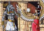 Set + Nephthys - Classic Mythology
