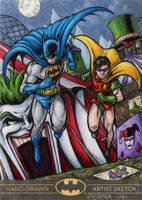 Batman the Legend - Batman + Robin AP by tonyperna