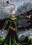 Morrigan Sketch Card - Classic Mythology II