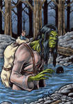 Qalupalik Sketch Card - Classic Mythology II