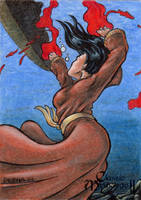 Sedna Sketch Card - Classic Mythology II by tonyperna