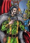 Loki Sketch Card - Classic Mythology II