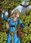 Idunn Sketch Card - Classic Mythology II