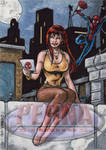 Mary Jane - Sketch Card