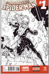 The Amazing Spider-Man - Sketch Cover