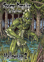 Swamp Monster - Hallowe'en 2 by tonyperna