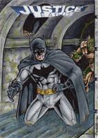 DC: Justice League - Batman by tonyperna