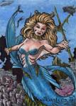 Mermaid Sketch Card - Spellcasters II