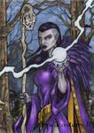 Elf Sketch Card - Spellcasters II