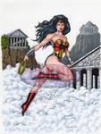 Wonder Woman 9 X 12 Color