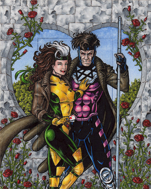 Gambit + Rogue On X-Couples