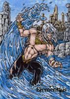 Elementals Sketch Card 6 by tonyperna
