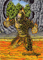 Elementals Sketch Card 5 by tonyperna