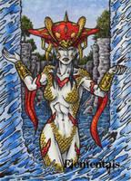 Elementals Sketch Card 3 by tonyperna