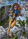 Jean Grey - 2015 Marvel Fleer Retro AP