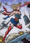 DC: Bombshells - Supergirl by tonyperna