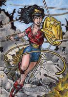 DC: Bombshells - Wonder Woman 3 by tonyperna