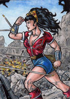 DC: Bombshells - Wonder Woman 4 by tonyperna