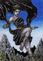 Nyx - Classic Mythology III by tonyperna