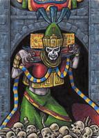 Mictecacihuatl - Classic Mythology III by tonyperna