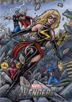 Avengers Assemble - Ms. Marvel + The Avengers
