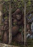Bigfoot - Sketch Card