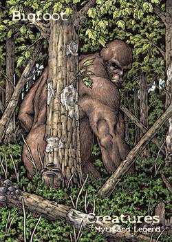 Bigfoot - Base Card Art