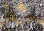 Anubis + Anput - Classic Mythology AP