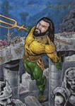 DC: Super Heroes + Villains - Aquaman by tonyperna