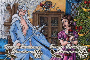 Christmas Literature - Snow Queen + the Nutcracker