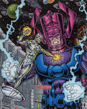 Silver Surfer vs. Galactus - MGH