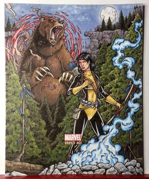 Demon Bear vs. Mirage - Marvel Bronze Age