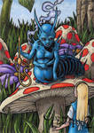 Classic Fairy Tales 2 - Blue Caterpillar by tonyperna
