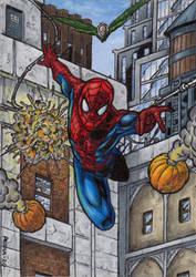 Spider-Man - Sketch Card MM 20 by tonyperna
