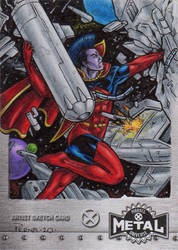 Gladiator - X-Men Metal