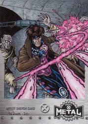 Gambit - X-Men Metal