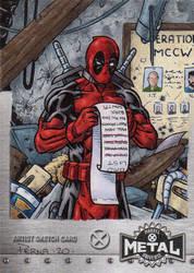 Deadpool - X-Men Metal