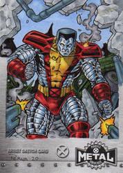 Colossus - X-Men Metal