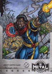 Bishop - X-Men Metal