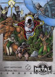 Alpha Flight - X-Men Metal