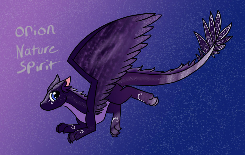 Orion Nature Spirit by Zeniththeskywing