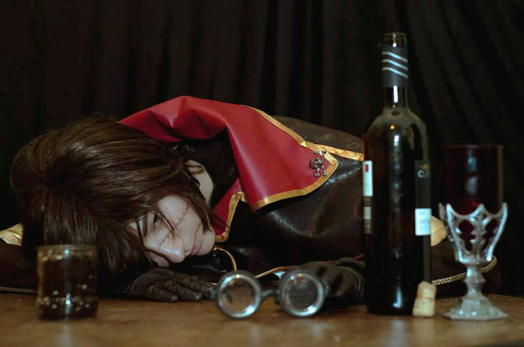 Captain Harlock  by MeiCosplay