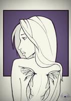 Wings by marialatorreart