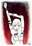 Manowar Girl by marialatorreart