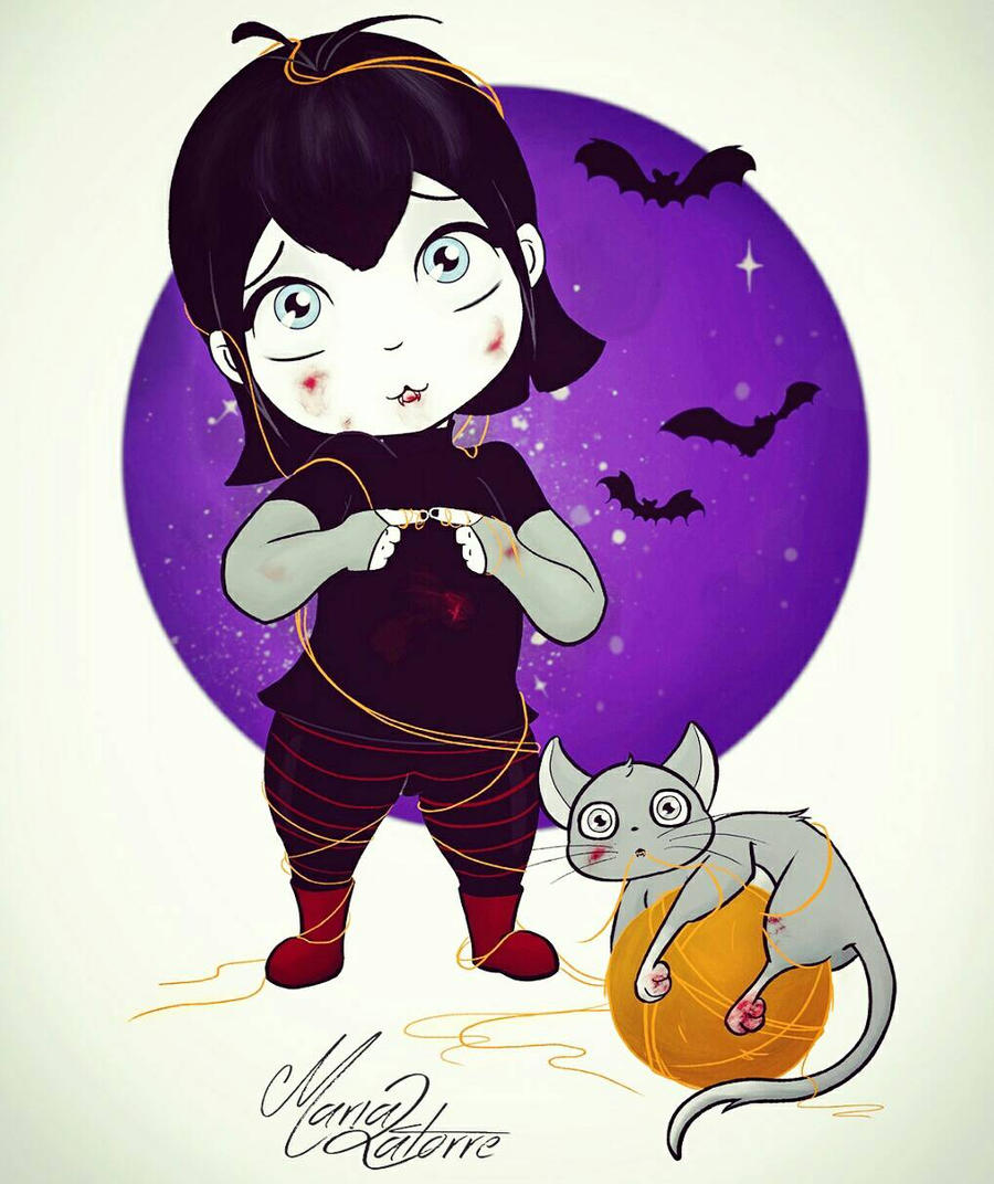Little Mavis by Maria Latorre  by marialatorreart